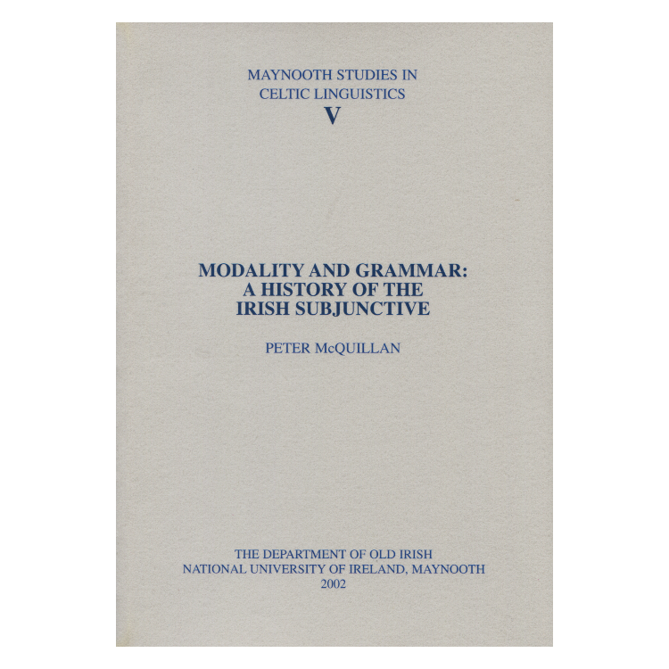 McQuillan: Modality and Grammar ...