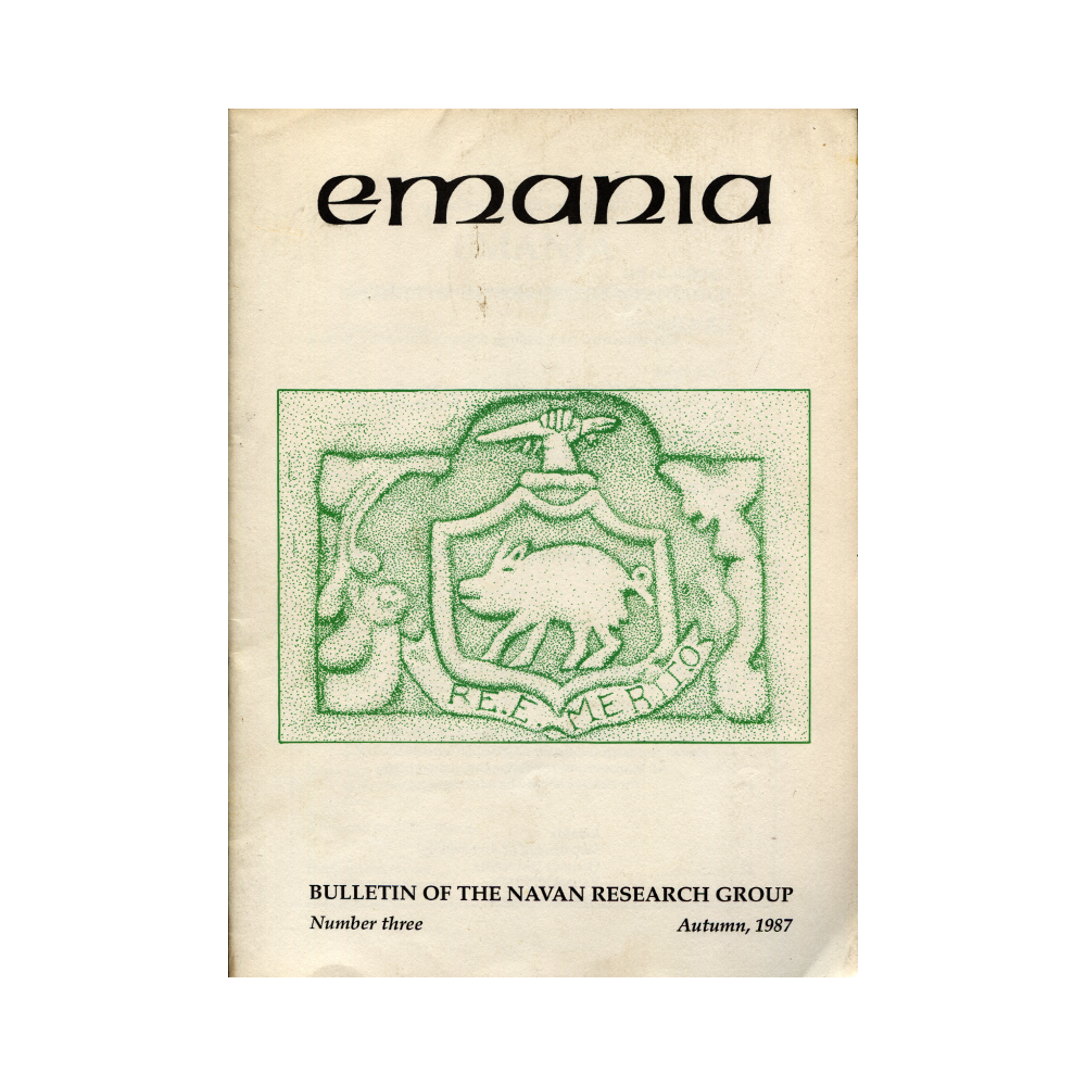 Emania – Bulletin of the Navan Research Group 3 (1987)