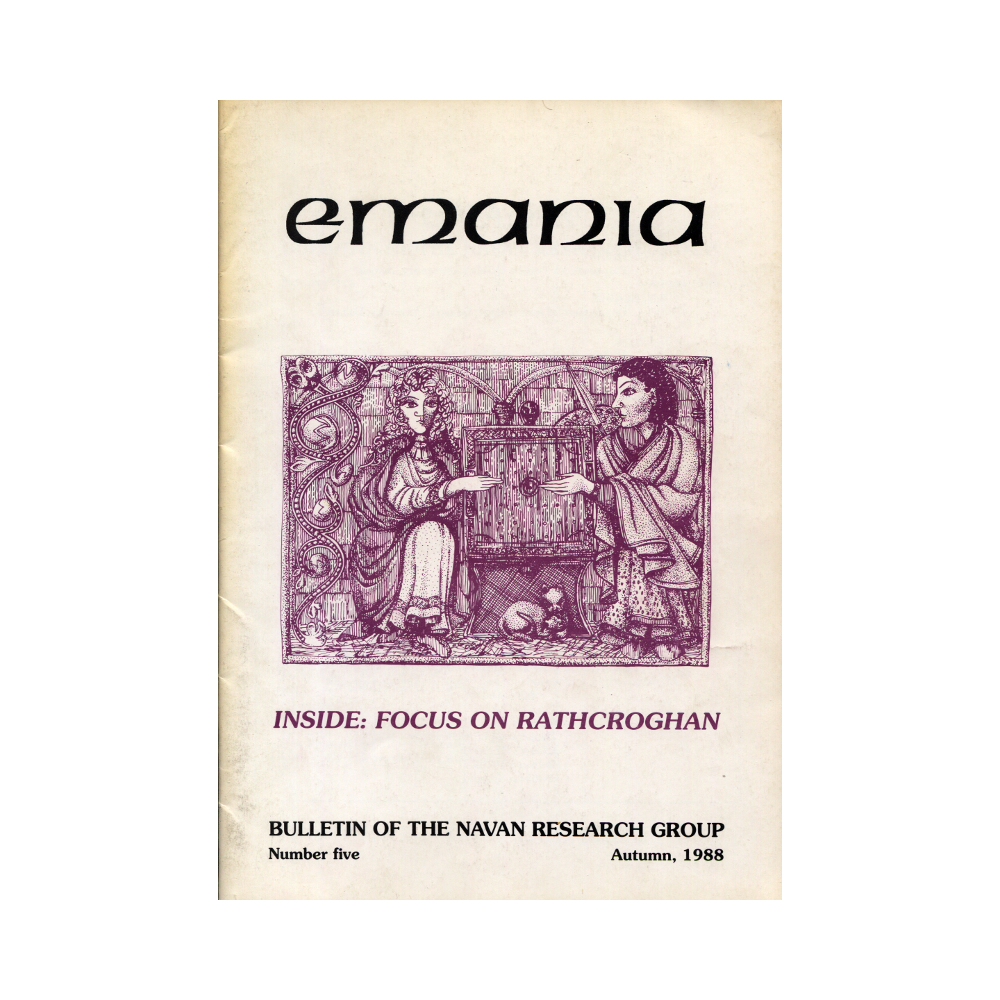 Emania – Bulletin of the Navan Research Group 5 (1988)