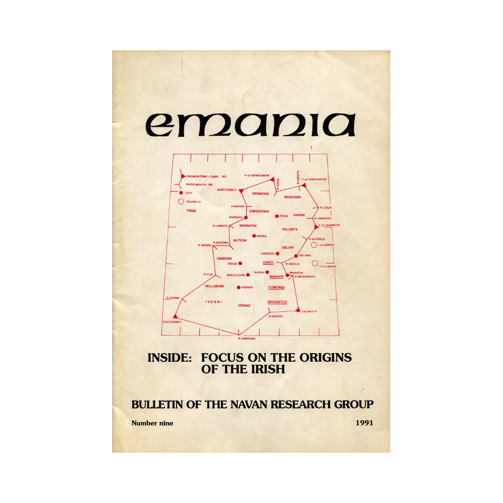 Emania – Bulletin of the Navan Research Group 9 (1991)