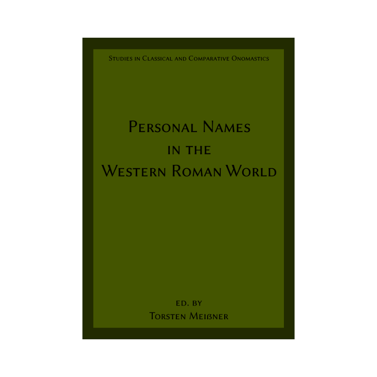Meißner: Personal Names in the Western Roman World